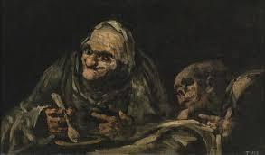 due vecchi che mangiano_goya