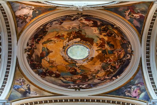 cupola della Basilica del Pilar_goya